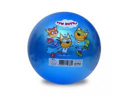 <b>Мяч</b> ЯиГрушка <b>Три кота</b>-1, 32 см купить в детском интернет ...