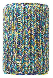 <b>Шарф Buff Knitted&Polar</b> Neckwarmer фиолетовый/бирюзовый ...