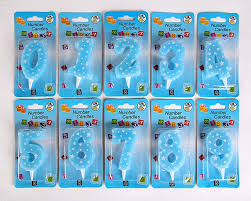 Birthday gift for children Large five star digital <b>candle</b> party supplies ...