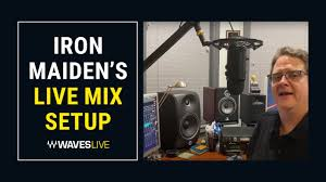 "<b>Iron Maiden's Live</b> Mix Setup | FOH Ken ""Pooch"" Van Druten 