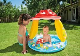 INTEX <b>Mushroom</b> Baby Kids Pool