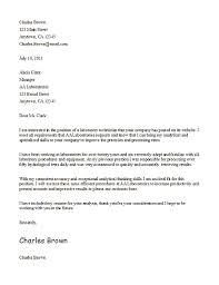 Letter Of Application Letter Of Application Unsolicited in