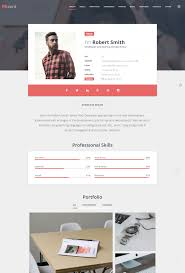 top resume website templates in wordpress rscard topnotch cv portfolio