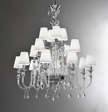 incredible white chandelier with shades clear glass modern murano chandelier l16k white lamp shades chandeliers pendants wayfair drum lighting