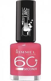 Rimmel 60 Seconds Быстросохнущий <b>лак для ногтей</b> 800 - <b>Black</b> ...