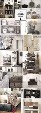 bedroom vintage ideas diy kitchen: diy rustic vintage farmhouse storage ideas