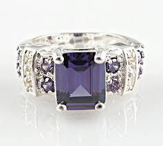 <b>Fashion women 925 sterling</b> silver Blue sapphire & white topaz ...
