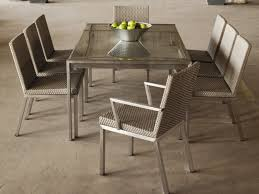 metal top dining tables dining table fascinating hand hammered stainless steel