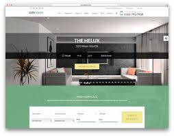 best real estate wordpress themes for agencies realtors and citilights beautiful real estate website template