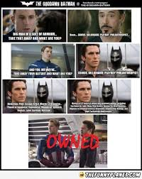 captain america iron man getting owned epic batman iron man fanboy
