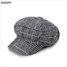 <b>SUOGRY</b> England Style <b>Classic</b> Berets Woolen Hats for Women ...
