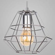 Подвесной <b>светильник TK Lighting</b> Diamond Silver <b>4202</b> Diamond ...