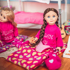 18 In Doll Clothes, <b>Dream Big Pajama</b> & Pink Sleepover Party ...