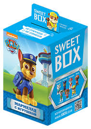 Жевательный <b>мармелад</b> Sweet Box Щенячий патруль ассорти 10 г
