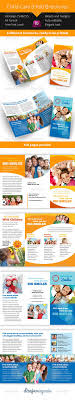 42 best ideas about flyers fundraisers after child care kindergarten 3 fold brochure