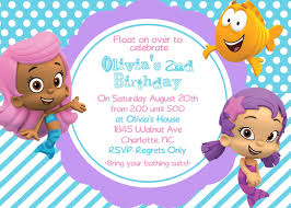 bubble guppy girls birthday invite card can be personalized bubble guppy girls birthday invite card can be personalized or customized invitation jpeg printable children holiday