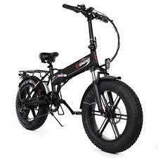 <b>ENGWE EP</b>-<b>2</b> Upgraded Version <b>500W Folding</b> Fat Tire Electric Bike ...