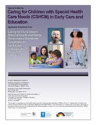caring for children special health care needs