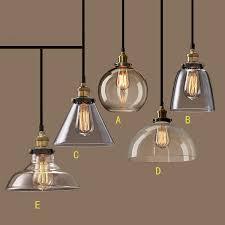 nordic vintage glass pendant lamp american country kitchen lights fixtures modern edison industrial luminaire 110v 220v buy kitchen lighting
