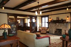 fireplaces beams woods country