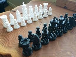 Spiral <b>Chess Set</b> by BigBadBison - Thingiverse