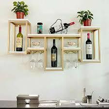 LHA Wine <b>shelf</b> European <b>Creative Wrought Iron</b> Wine Frame ...
