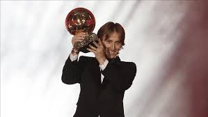 Football: <b>Real Madrid's</b> Modric wins <b>2018</b> Ballon d'Or