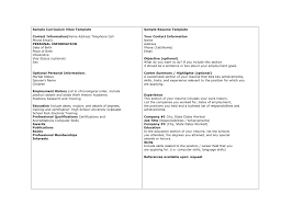 resume cv sample