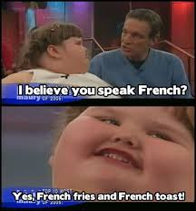 Fluent in French | Fat Kid Dancing | Know Your Meme via Relatably.com