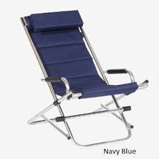 comfortable patio chairs aluminum chair: twofold bay reclining rocking chair navy blue an amazingly comfortable lightweight amp luxurious outdoor reclining chair with all of the features that