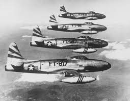 u s department of defense photo essay a flight of f 80 shooting stars of the 8th fighter bomber wing return to