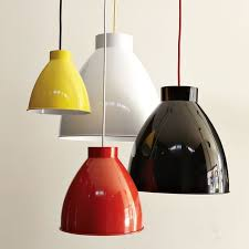 colorful modern pendant light red black yellow white wire phenomenal behind reflection products beautiful modern kitchen lighting pendants yellow