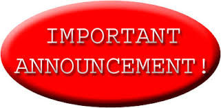 Image result for announcements clipart
