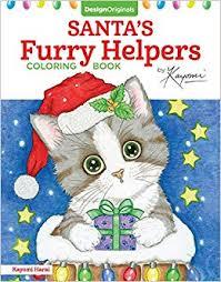 Santa's Furry Helpers Coloring Book (Design ... - Amazon.com