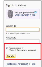 Create Yahoomail www.yahoomail.com Yahoo-Mail Sign in