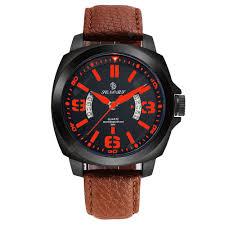 <b>Senors Men's Sports</b> Business Fashion Brown Belt <b>Watch</b> | Gearbest ...
