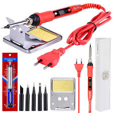 JCD 220V 80W <b>Electric Soldering</b> iron <b>LCD</b> Adjustable Temperature ...