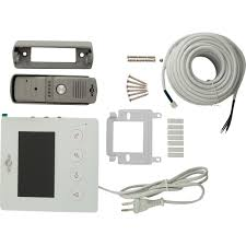 Комплект <b>видеодомофона вызывная панель</b> и экран 4.3 ...