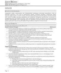 Administrative Resume Examples   Resume Professional Writers Manager Manager Resume Example