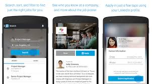 the week s best android iphone ipad and windows phone apps linkedin job search linkedin has a variety of uses and one of them is the ability to search for jobs the main linkedin app has a lot going for it