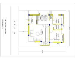 House plans for x   sqft   north facing enterence     x north facing plan House plans for x   sqft   north facing enterence