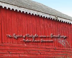 Inspirational Quotes Sayings Red Barn by AnneFreemanImages via Relatably.com