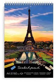 Альбом Феникс Париж 29.7 х 21 см, 150 г/м², 30 л. — купить по ...