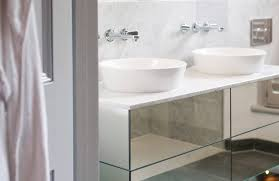 White Bathroom Units Fitted Bathroom Furniture Units White Gloss Wall Unit And Mirrors