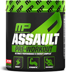 MusclePharm Assault Pre-Workout Powder, Pre ... - Amazon.com