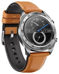<b>Часы HONOR Watch</b> Magic (stainless steel, leather strap) — купить ...