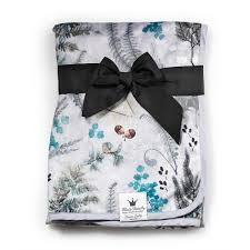 Детский <b>плед Elodie</b> Details Pearl <b>Velvet Blanket</b> Forest Flora, арт ...