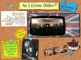 as i grew older by langston hughes acirc copy  poetry analysis rdquoas i grew olderrdquo by langston hughes