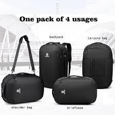 <b>OZUKO</b> men multifunctional backpack travel shoulder laptopbag ...