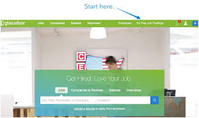 glassdoor job posting how to get solid candidates each time post to glassdoor step 1